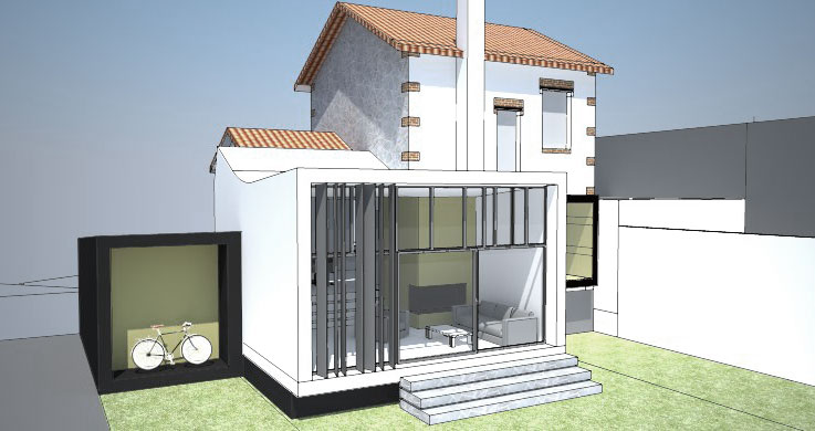 EXTENSION MAISON SAINT MAUR DES FOSSES