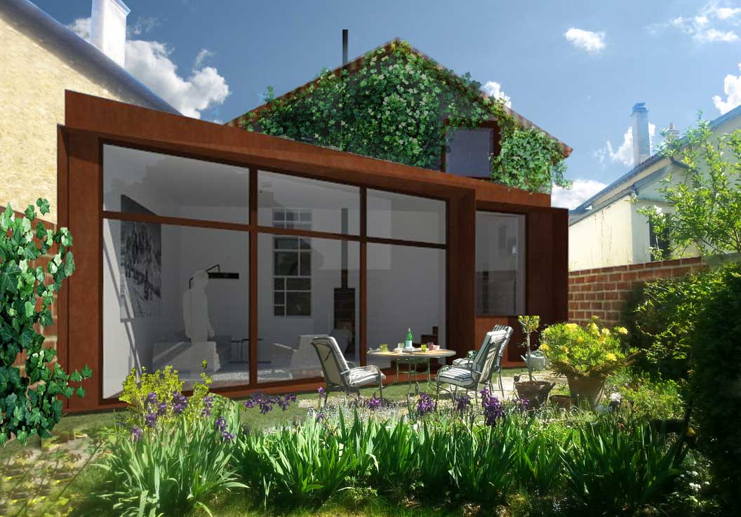 Extension pavillon saint maur des fosses nim for Jardin d ohe saint maur