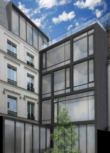 SURELEVATION ET EXTENSION HOTEL PARTICULIER PARIS